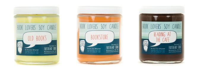 bookish candles
