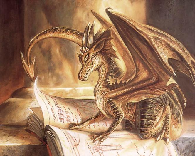 Golden_Dragon_Reading_Book